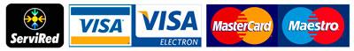 Pago con tarjeta de crédito o débito